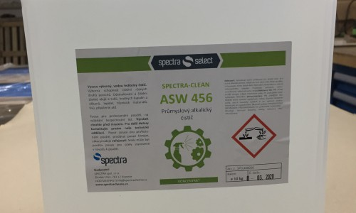 Spectra CLEAN ASW 456 alkalický priemyselný čistič